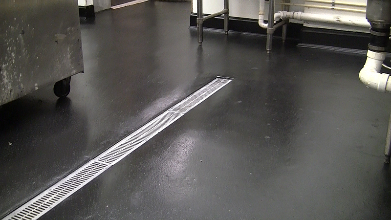 commercial kitchen floor drain