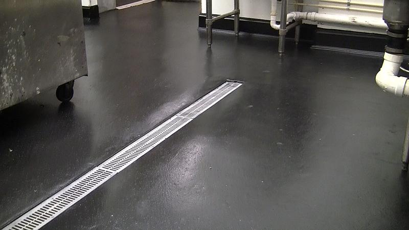 Commercial Kitchen Floor Repair