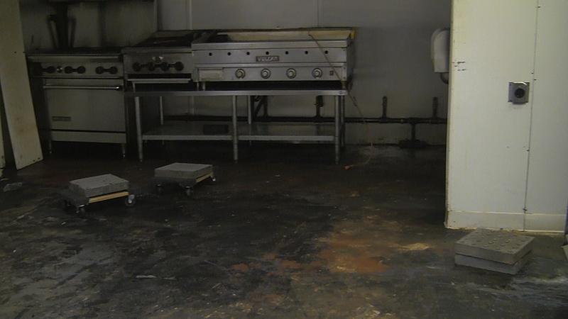 Industrial Commercial Kitchen Polyurea Flooring
