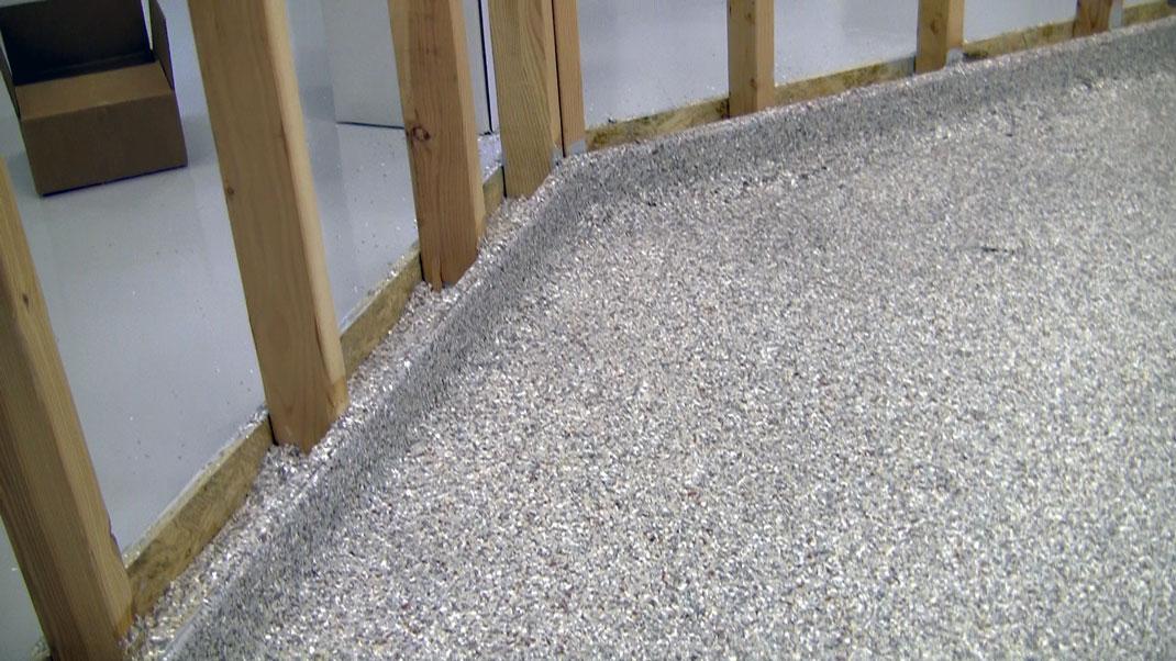 Polyaspartic Industrial Flooring System Veterinarian Dog